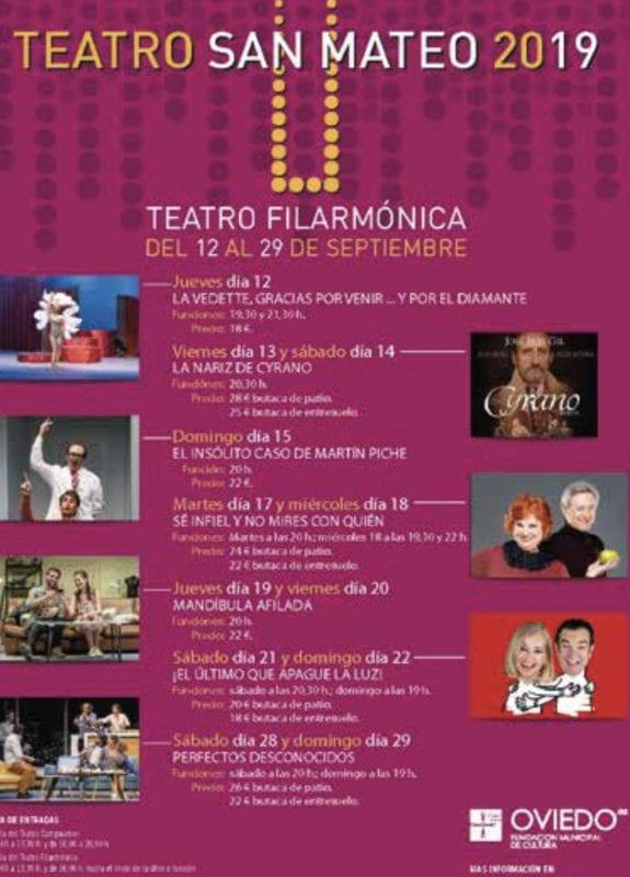 Programacion teatro filarmonica