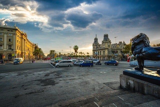 Barcelona es una ciudad muy cómoda para visitar en coche