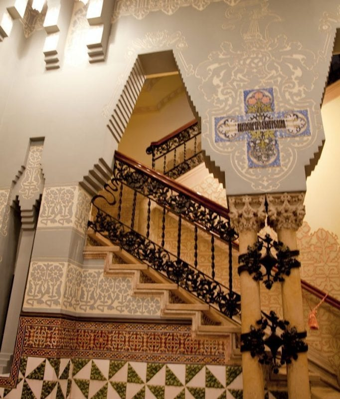 Interior de la casa Coll i Regás
