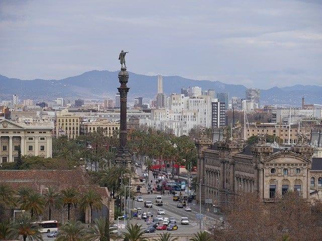 Barcelona es una ciudad con mucho tráfico