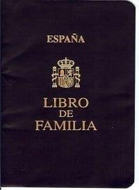 Libro de Familia español