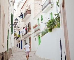 Callejuelas de Ibiza