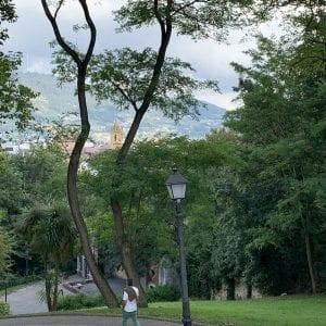 Panorámica de Oviedo desde los jardines de La Rodriga