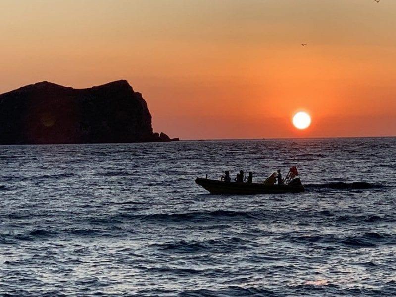 La puesta de sol en cala Conta es para muchos la mejor de Ibiza