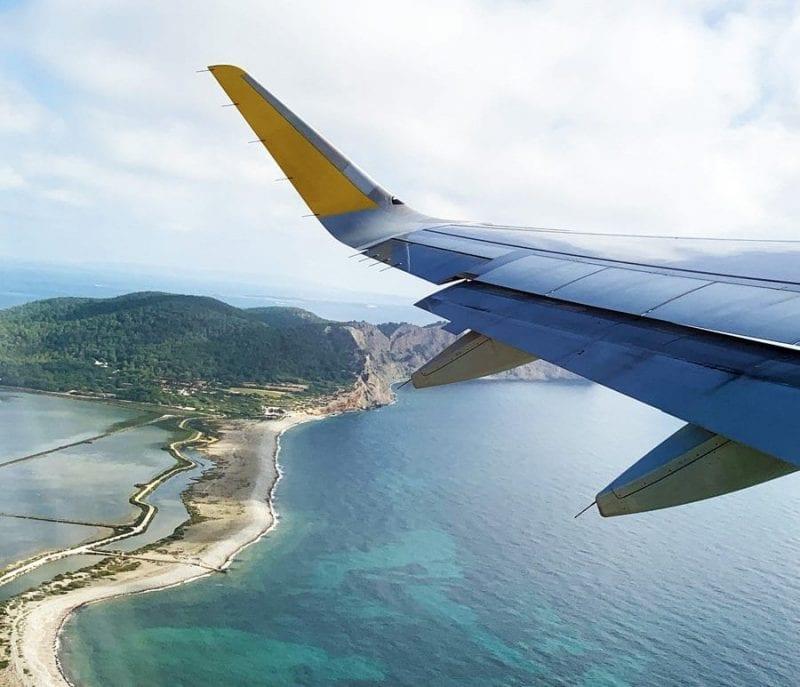 Ibiza desde el aire es una preciosidad