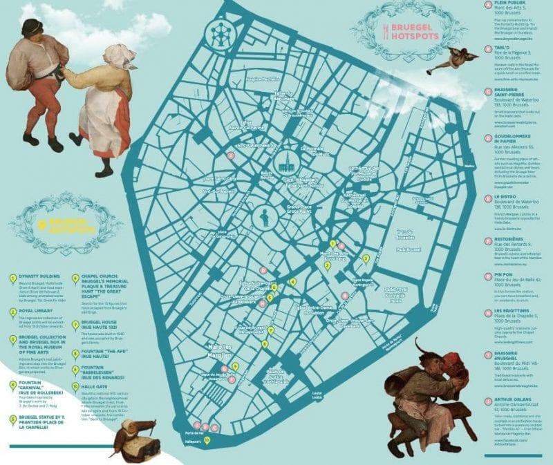 En Bruselas hay una ruta permanente dedicada a Bruegel