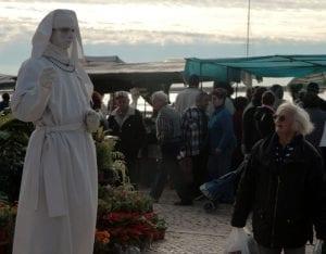 Escena en el mercado de Olhao