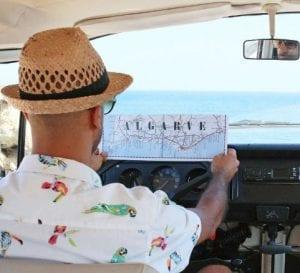 Viajar en furgoneta por el Algarve es toda una experiencia