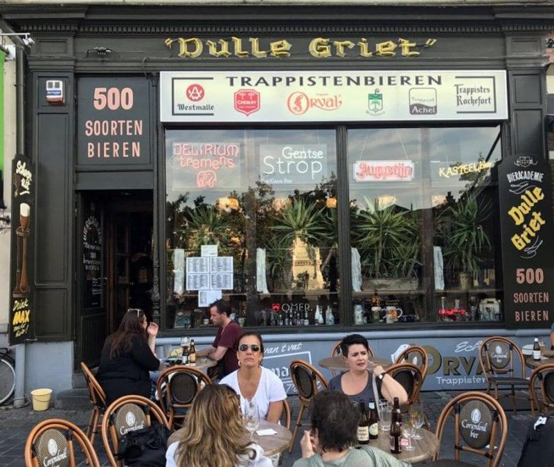 El bar Dulle Griet está en Gante