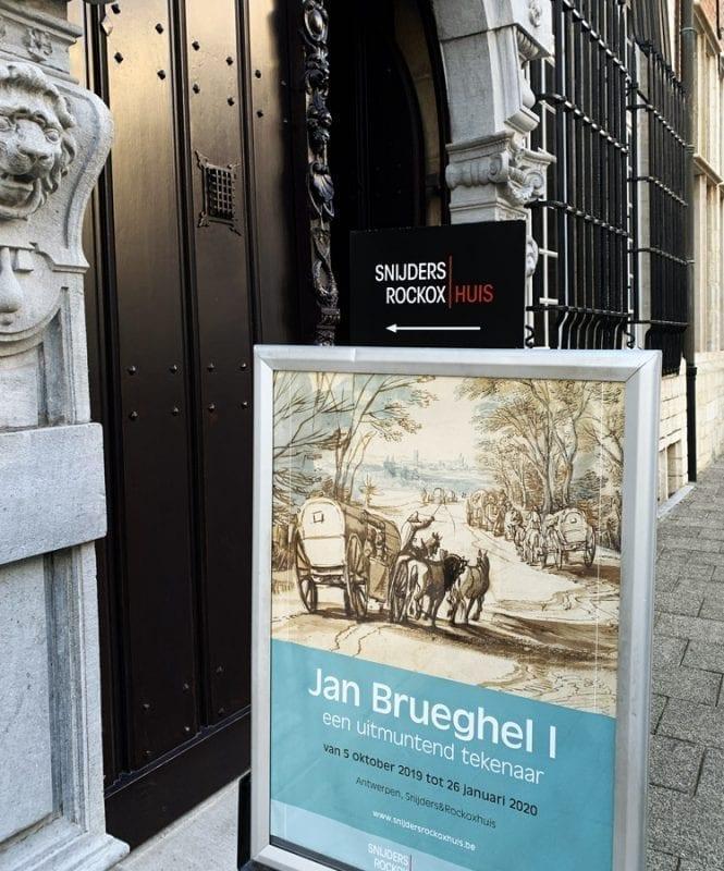Cartel de la exposición de Jan Brueghel en el museo Rockox