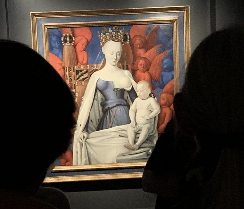Fouquet pintó esta Madonna en 1450