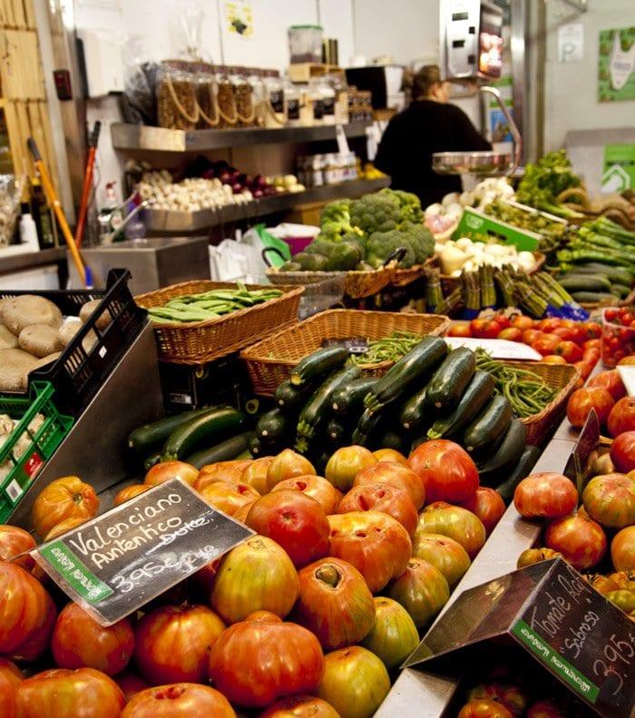 En el Mercado Central de Valencia hay 274 puestos de venta, el 95% dedicado a la alimentación