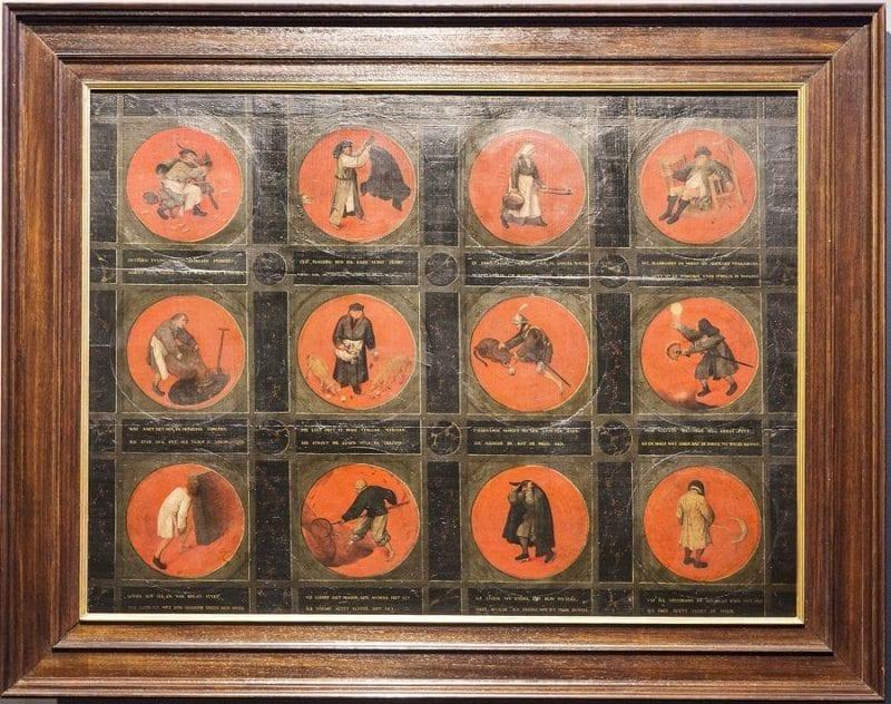 Los proverbios de Bruegel en el museo Mayer van del Bergh