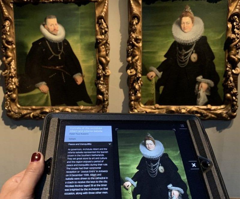La colección de la casa Rockox acoge varios cuadros de Rubens