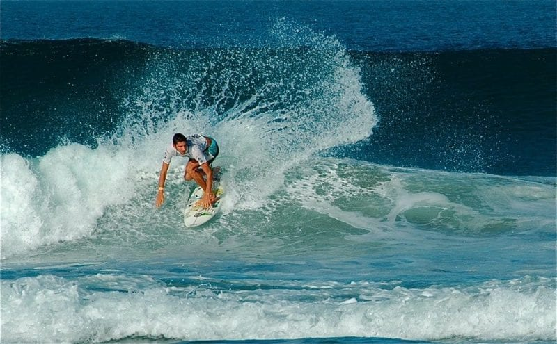 El estado de Oxaca es muy visitado por amantes del surf