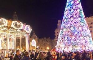 Valencia en Navidad es un espectáculo