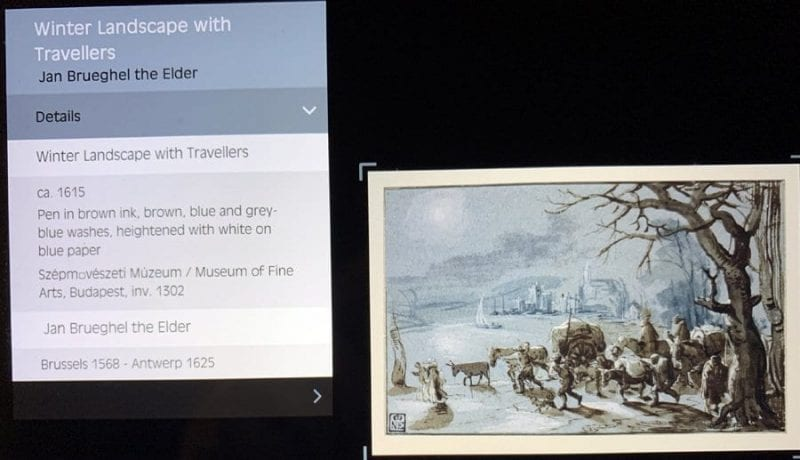 Jan Brueghel pintó los paisajes que veía en sus viajes