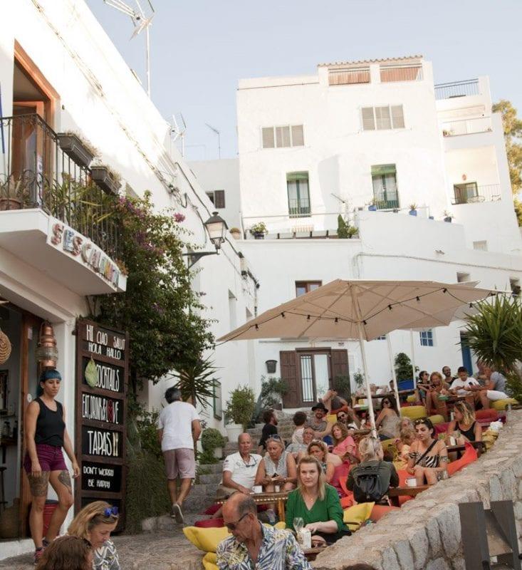 Rincon en el casco histórico de Ibiza
