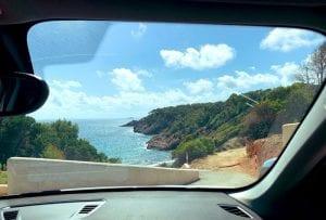Conducir por Ibiza es una maravilla