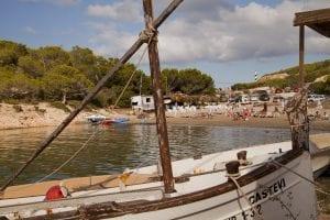 En Ibiza quedan pueblos con marcado sabor pesquero como Portinatx