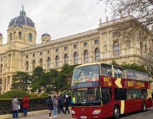El Museo de Historia Natural es uno de los edificios más destacados de la avenida Ringstrasse