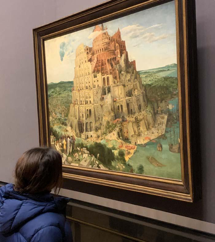 La torre de Babel de Brueghel el Viejo, es uno de los tesoros del Kunsthistorisches