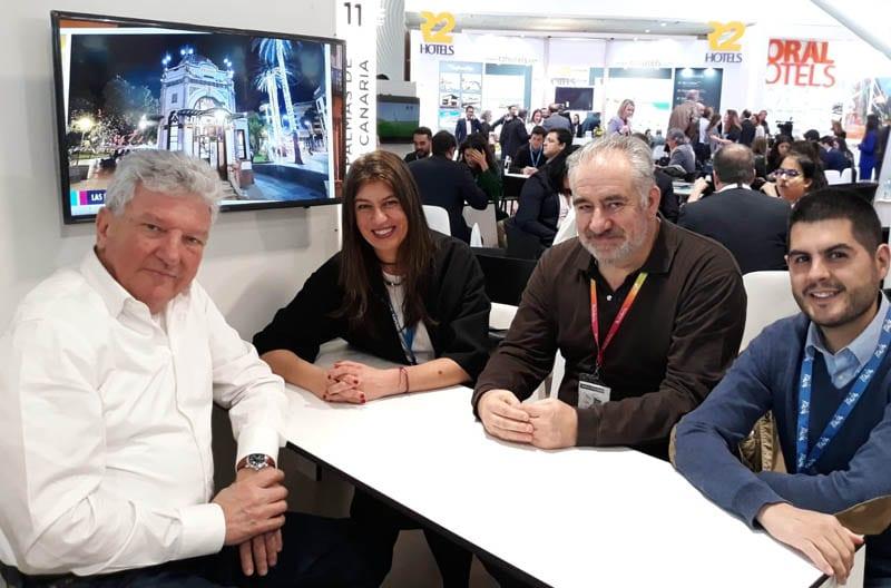 Pedro Quevedo, Diputado y Concejal de Turismo de Las Palmas de Gran Canaria es uno de los veteranos en Fitur.