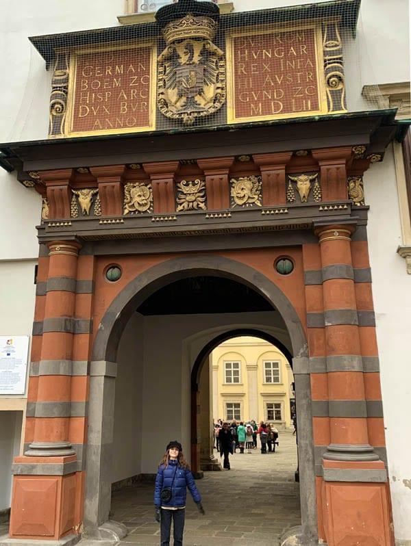Puerta Suiza en el palacio de Hofburg