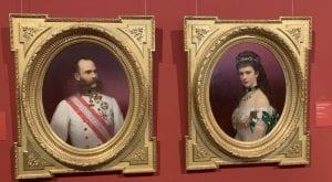 Retrato de Francisco José de Austria y su esposa Sissí