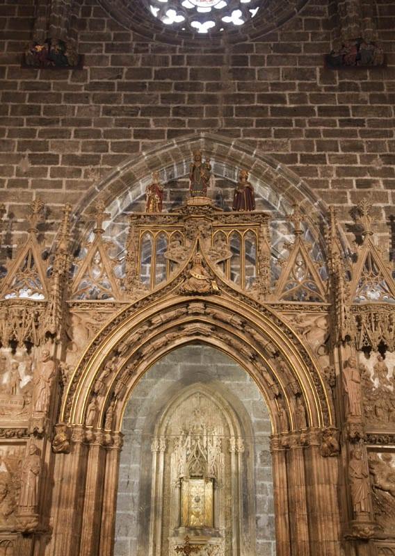 El Santo Grial actualmente se expone en la Catedral de Valencia