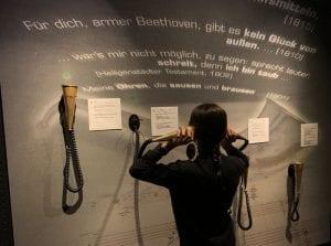 En la Casa de la Música puedes experimentar cómo se sentía Beethoven con su sordera