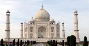 El Taj Mahal, en Agra, uno de los monumentos más visitados de La India