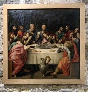 La Última Cene de Juan de Juanes se exhibe en el museo de la Catedral