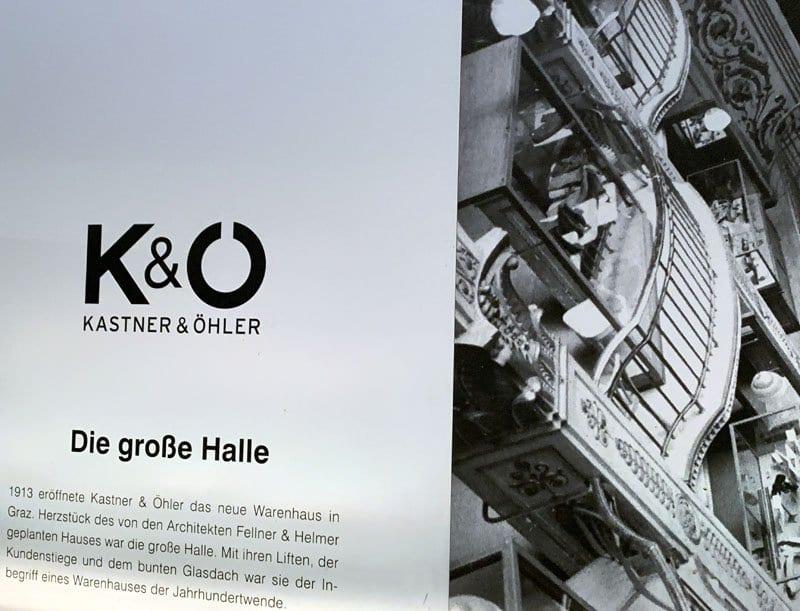 K&O, grandes almacenes de referencia en toda Austria