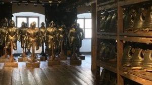 En el museo armería de Graz hay más de 32000 piezas originales