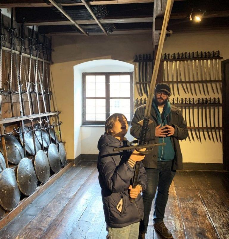 Las lanzas eran armas muy pesadas