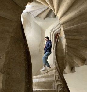 La escalera de espiral de Graz es una obra de arte