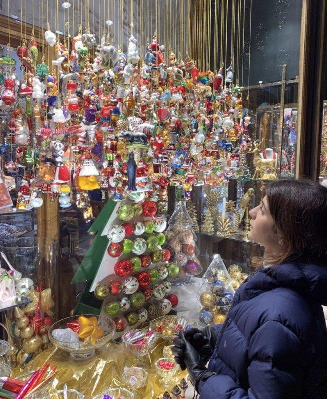 Los escaparates de Graz en Navidad cuidan todos los detalles