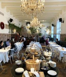 Detalle de los desayunos en el hotel Wiesler