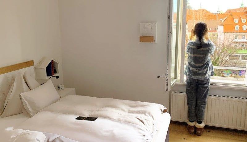 Habitación del hotel Wiesler en Graz