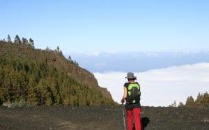 En Tenerife hay rutas de senderismo por encima de las nubes