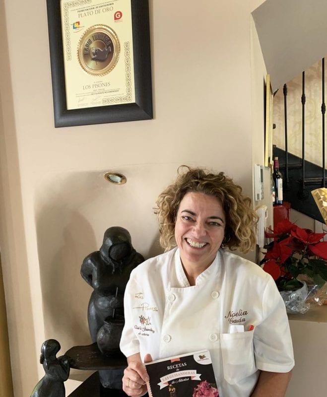 Noelia García es miembro del club de Guisanderas de Asturias