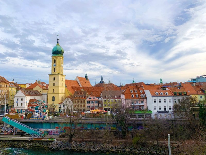 Panorámica de Graz