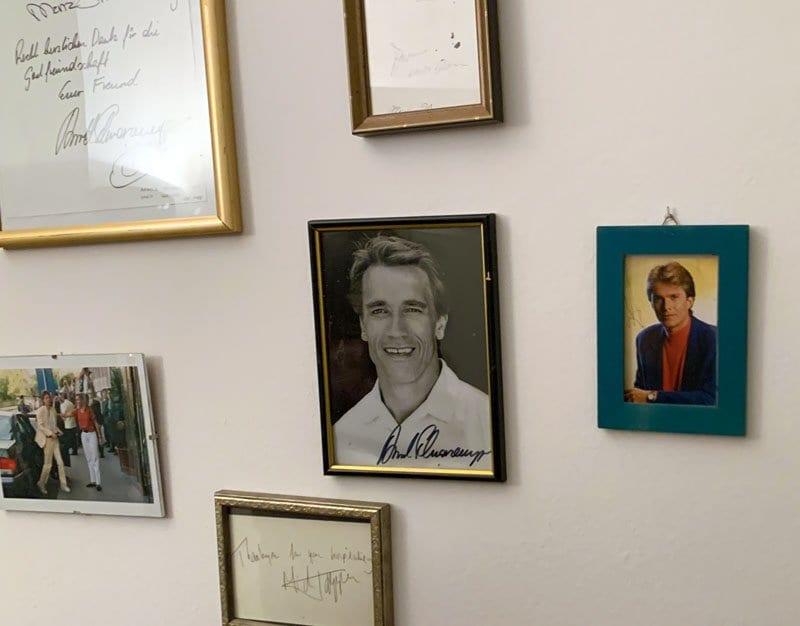 Schwarzenegger, Mick Jagger... algunos de los clientes del Hotel Wiesler de Graz