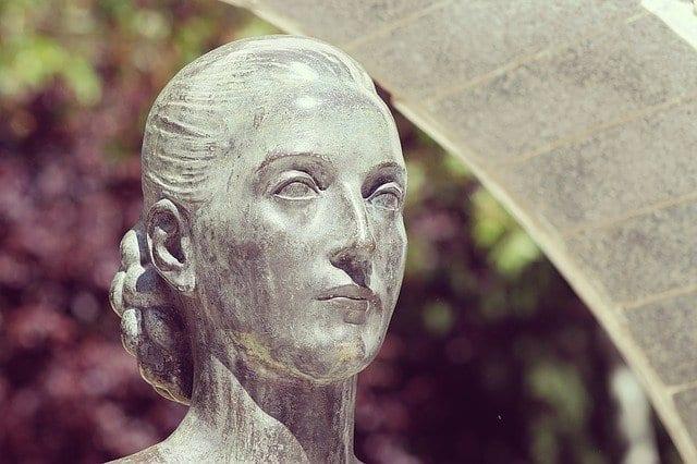 Escultura de Eva Perón
