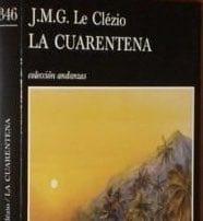 """Portada de """"La Cuarentena"""""""