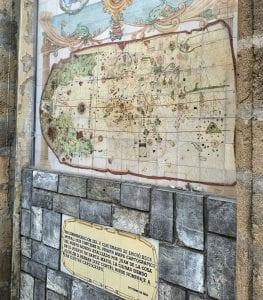"""Mapa del """"nuevo mundo"""" de Juan de la Cosa"""