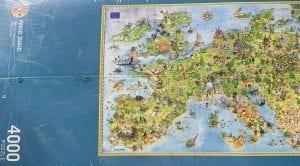 Puzzle del mapa de Europa