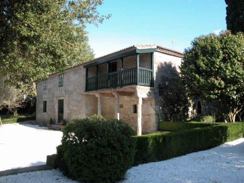 Fachada de la casa Museo de Rosalía de Castro en Padrón