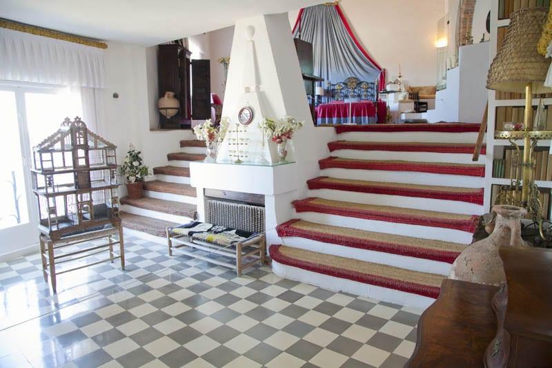 Habitación de Dalí en su casa de Portlligat